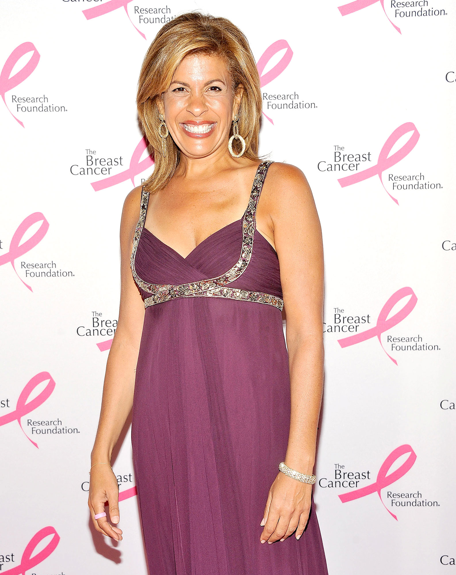 Hoda Kotb at The Breast Cancer Research Foundation's 2012 Hot Pink Party at The Waldorf-Astoria on April 30, 2012 in New York City.