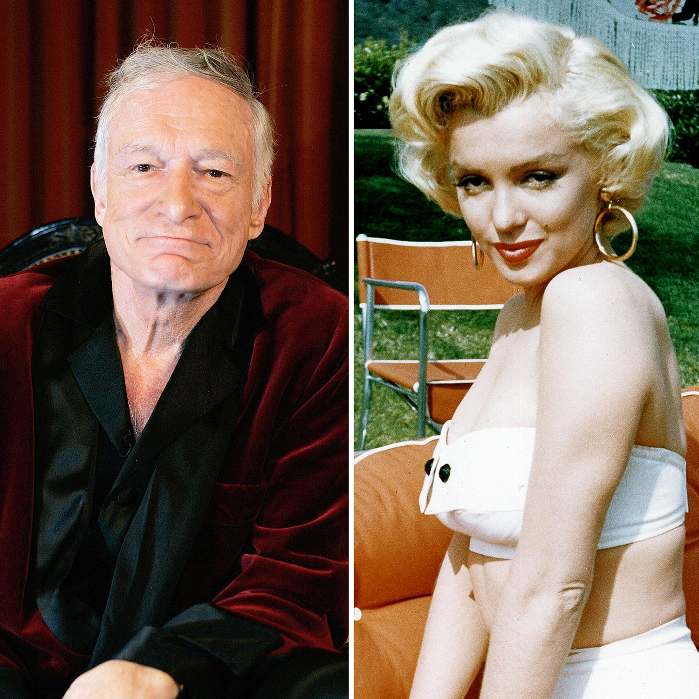 Hugh Hefner Marilyn Monroe