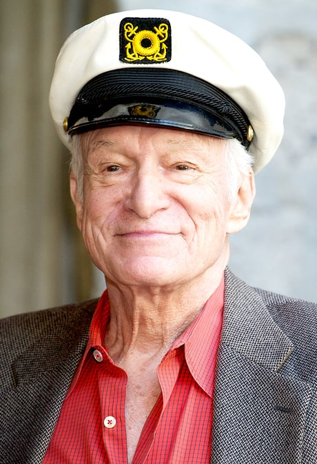 Hugh Hefner at the 33rd Annual Playboy Jazz Festival Artist Line-Up announcement at The Playboy Mansion on February 10, 2011 in Beverly Hills, California.
