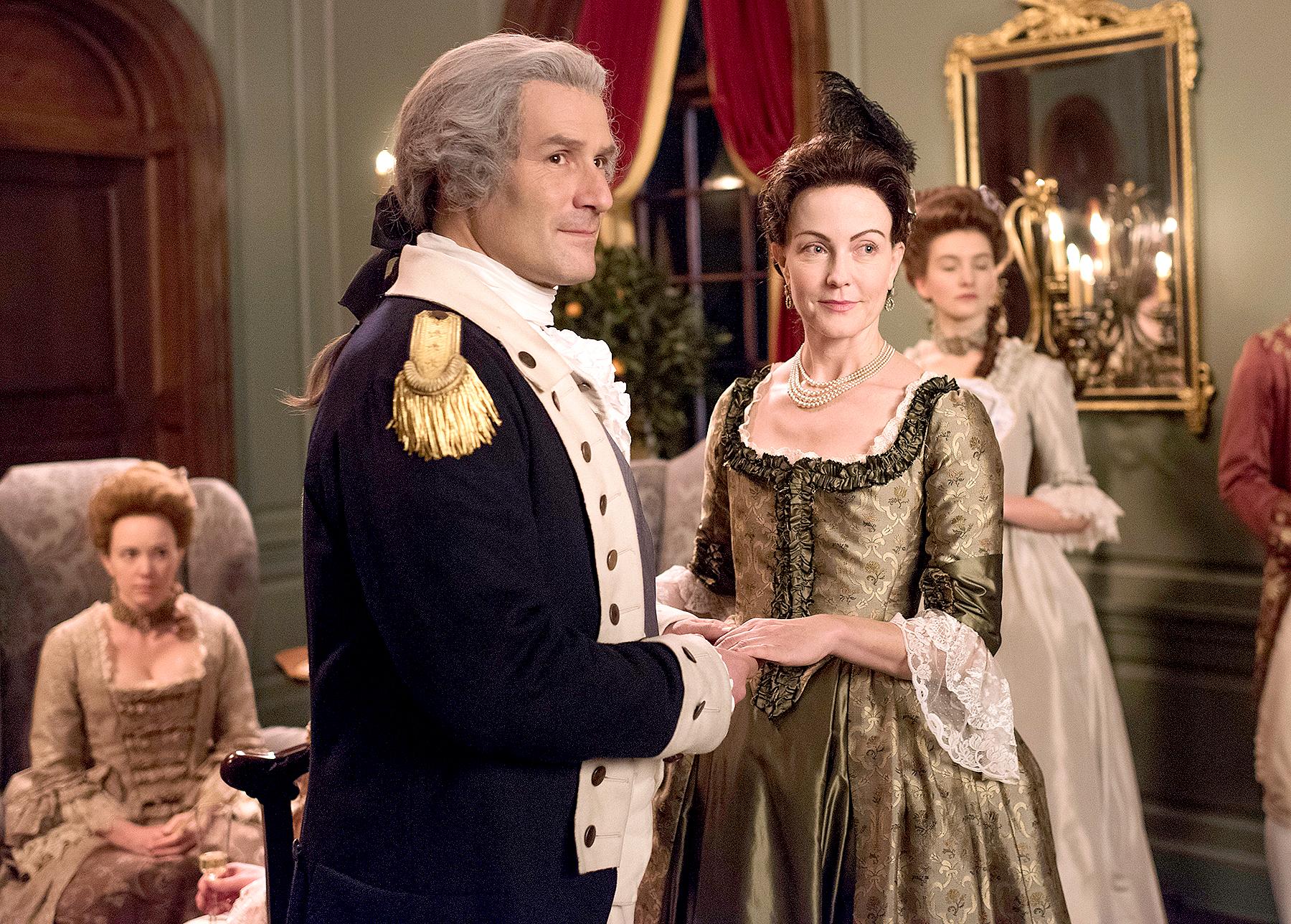 Ian Kahn as General George Washington on TURN: Washington's Spies