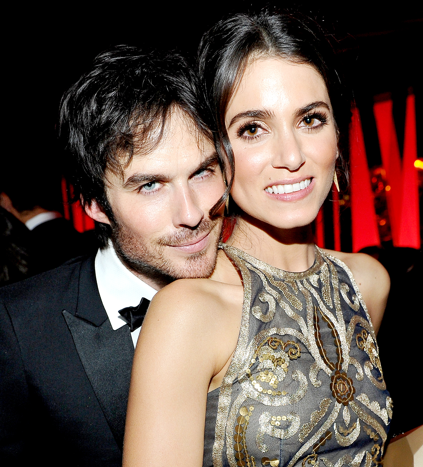 Ian Somerhalder and Nikki Reed attend The 2016 InStyle and Warner Bros. 73rd annual Golden Globe Awards Post-Party at The Beverly Hilton Hotel on January 10, 2016 in Beverly Hills, California.