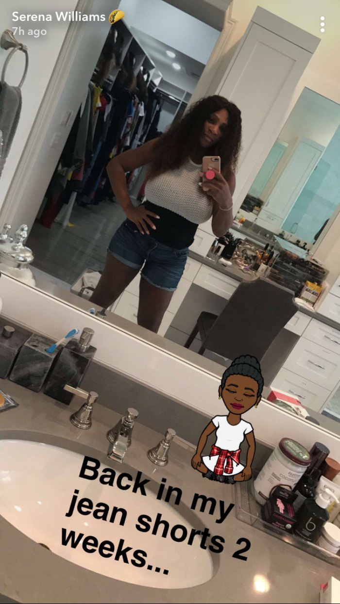 Serena Williams Shows Off Post-Baby Weight Loss: Pic