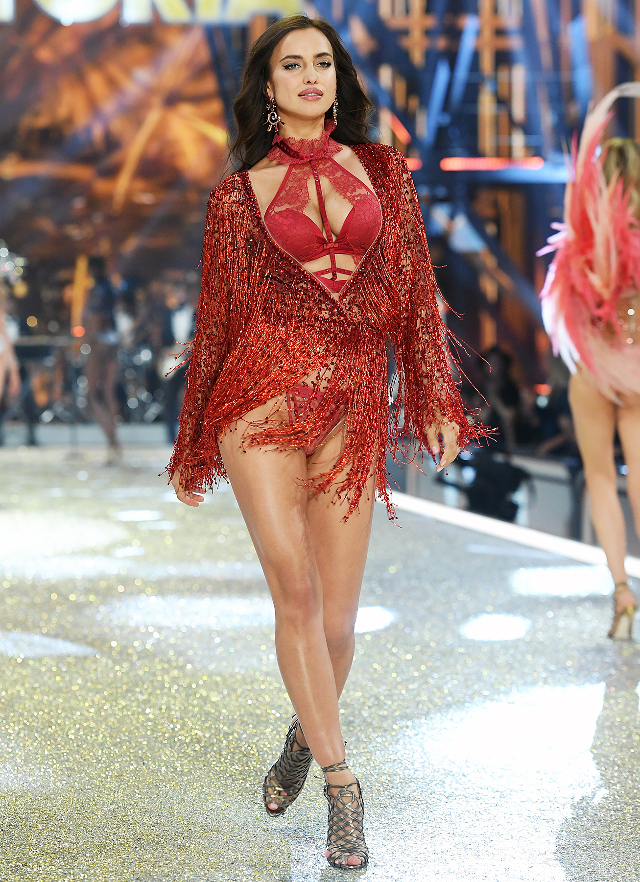 Irina Shayk Victoria's Secret Fashion Show