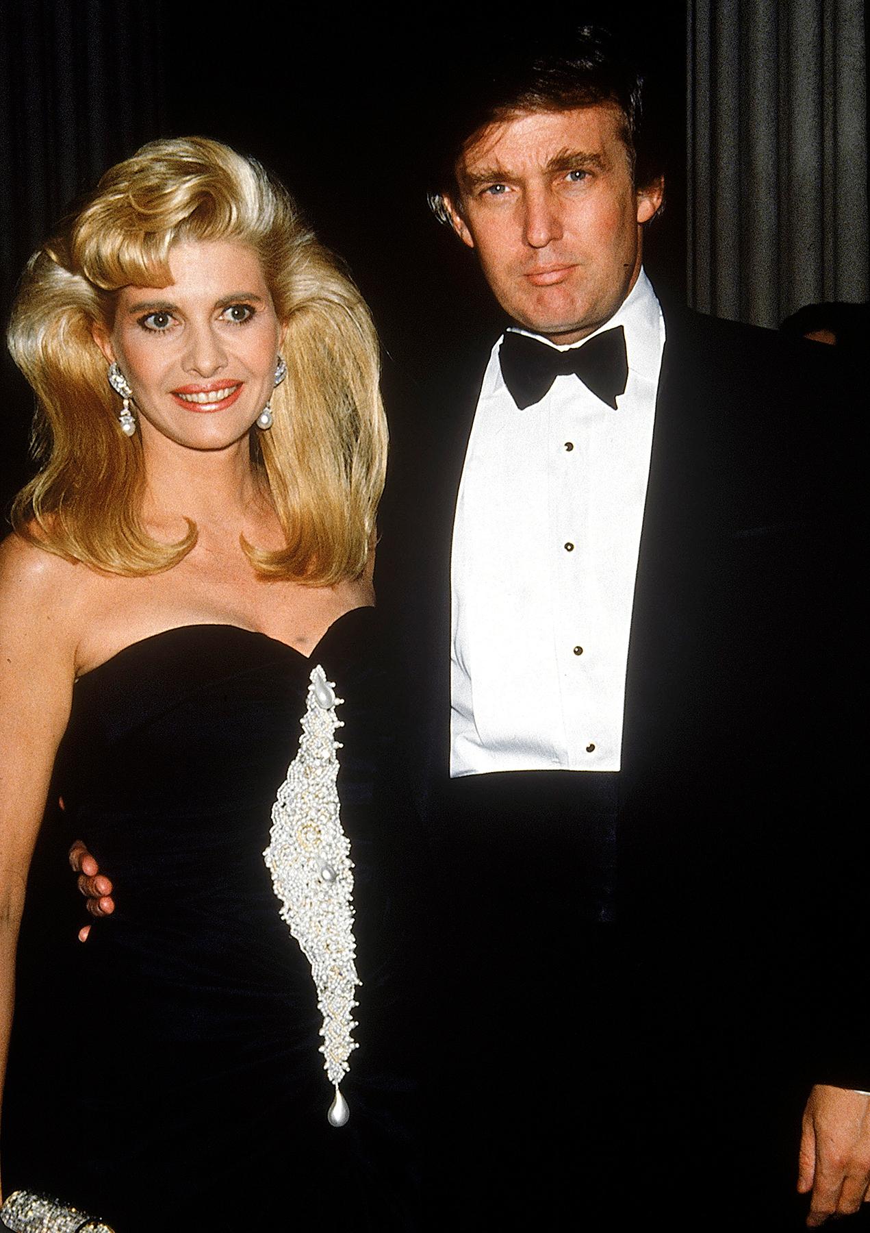 Ivana Trump Donald Trump