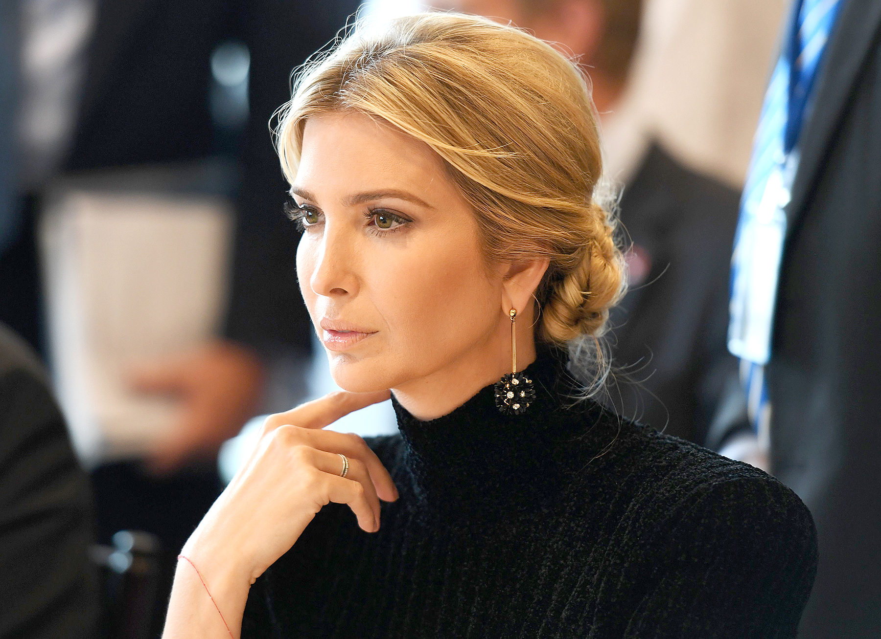 "Ivanka Trump attends the event ""A Call to Action to End Forced Labour, Modern Slavery and Human Trafficking"" on September 19, 2017 at the United Nations in New York."