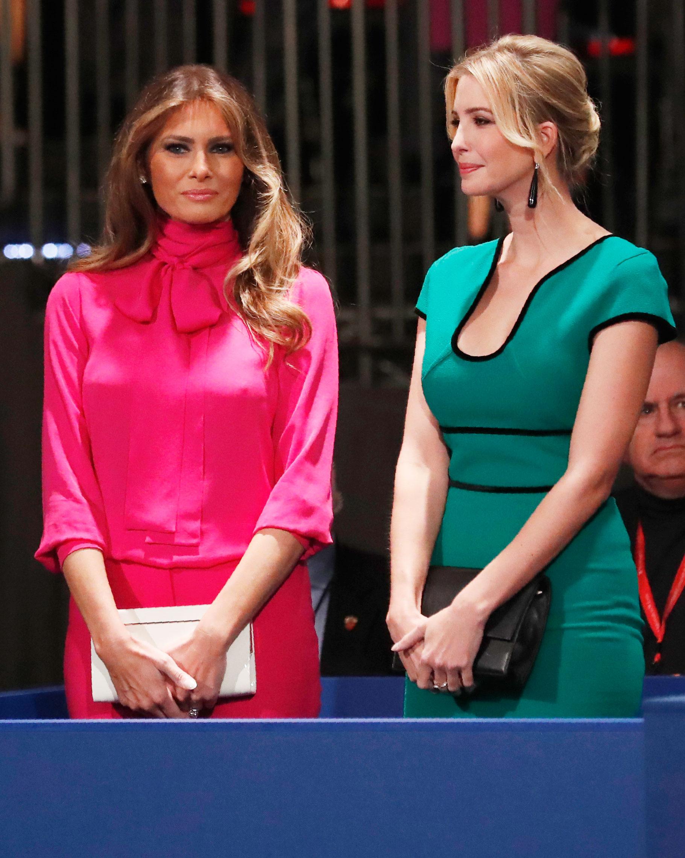 Ivanka Trump Melania Trump