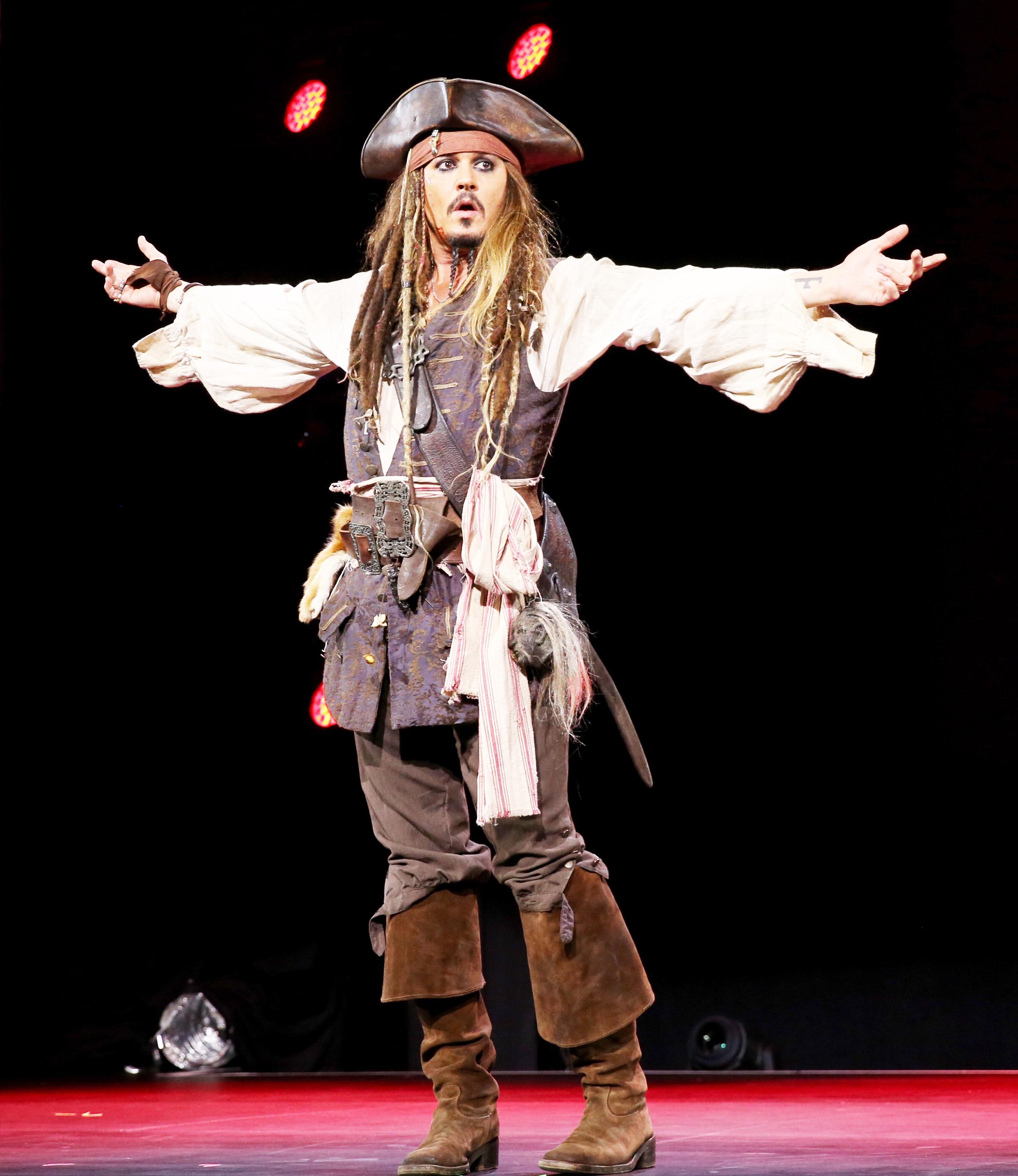 Disney's D23 Expo to Display Johnny Depp's Original ...