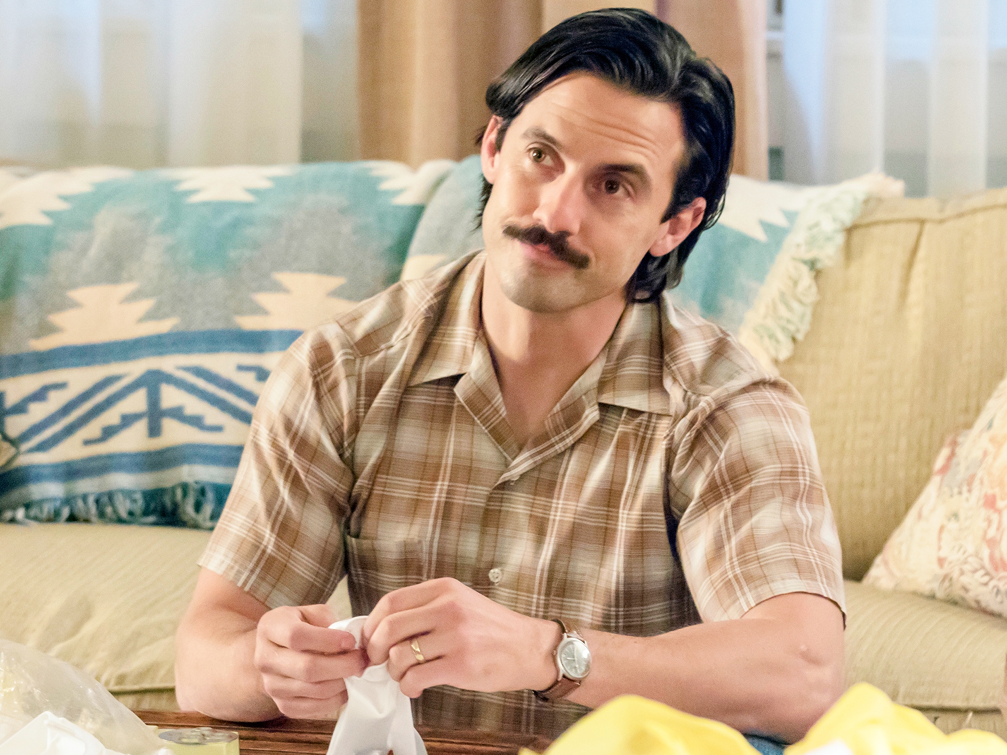 Milo Ventimiglia as Jack in This Is Us