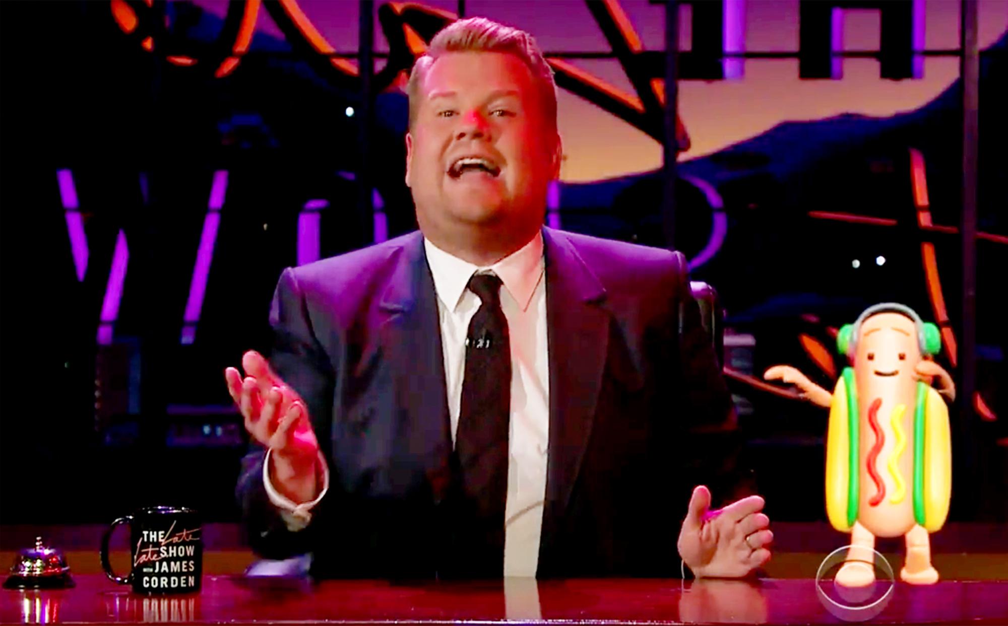James Corden The Late Late Show Despacito