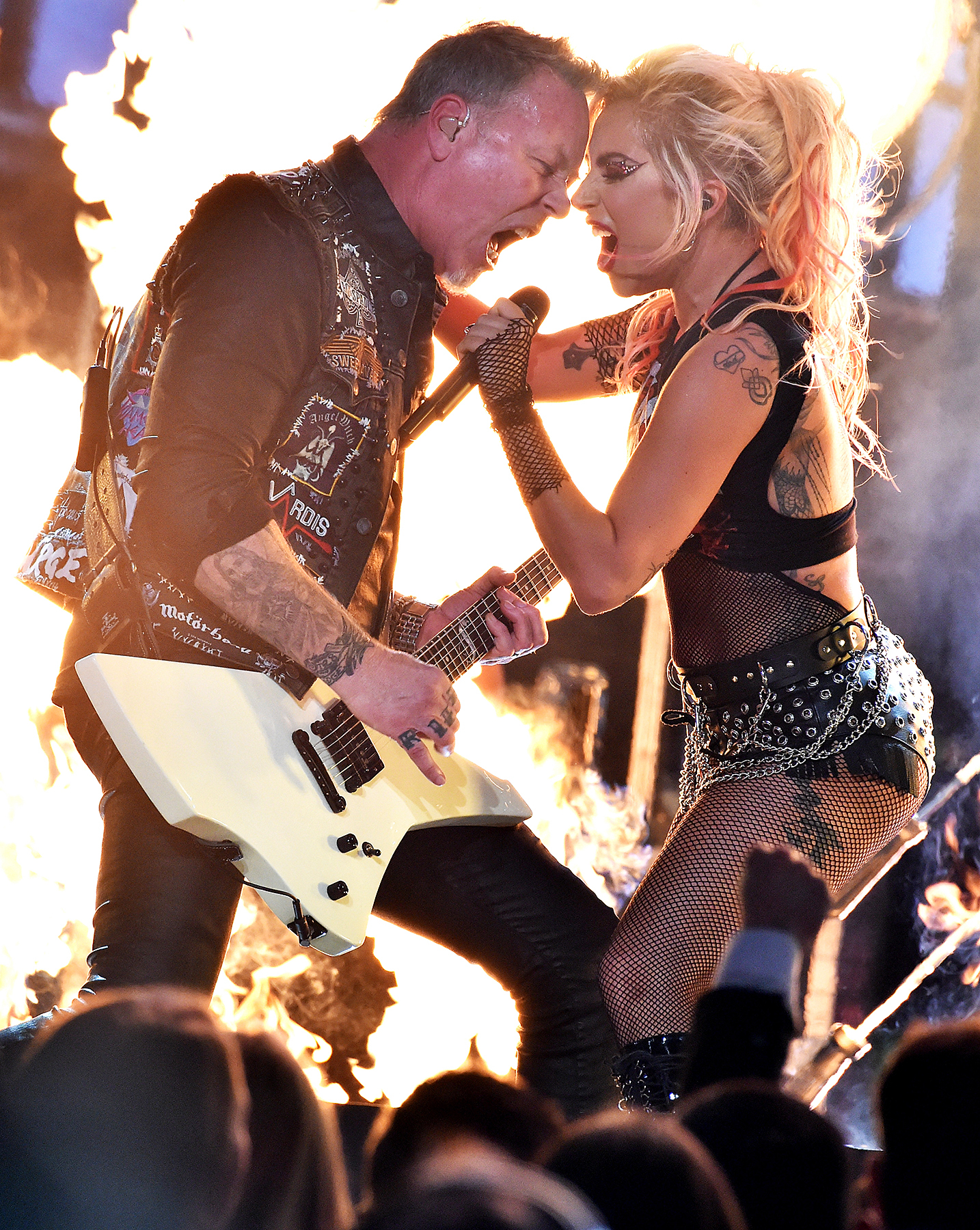 James Hetfield Lady Gaga Metallica Super Bowl