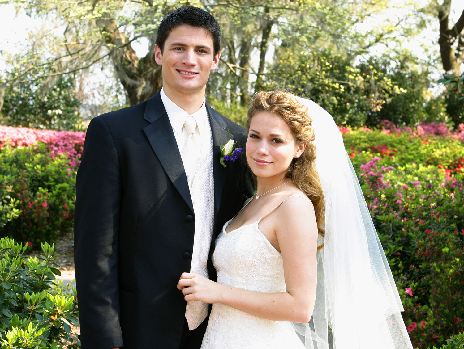 James Lafferty and Bethany Joy Galeotti