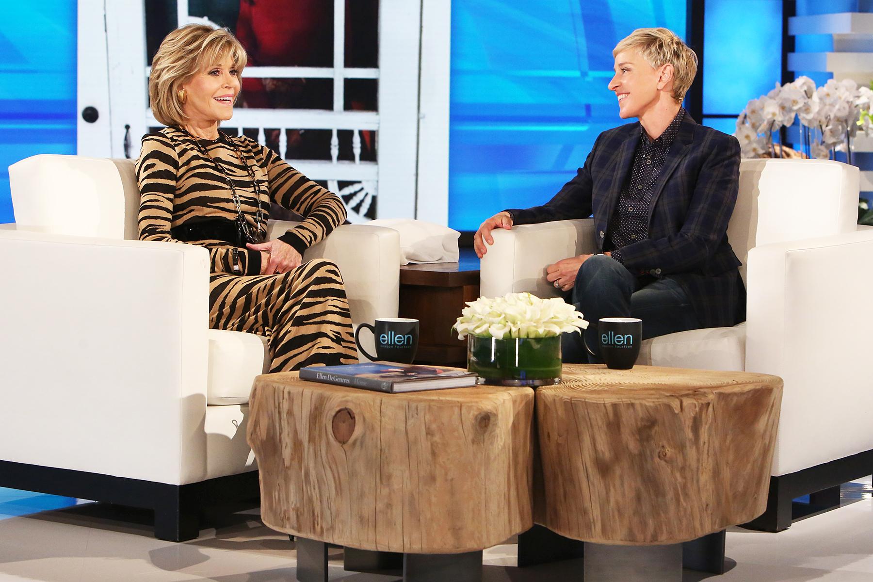 Jane Fonda Ellen DeGeneres