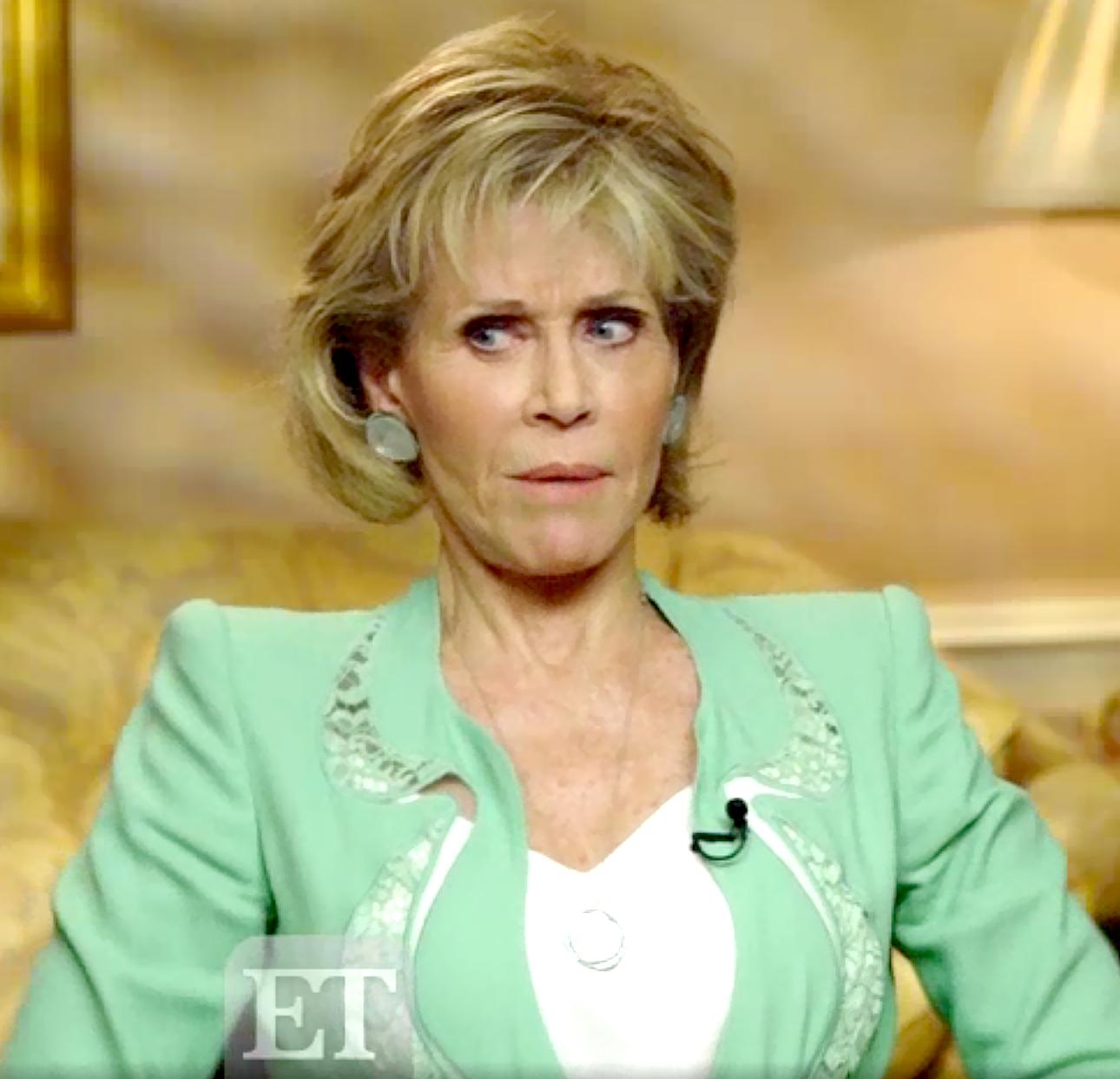 Jane Fonda on ET Canada