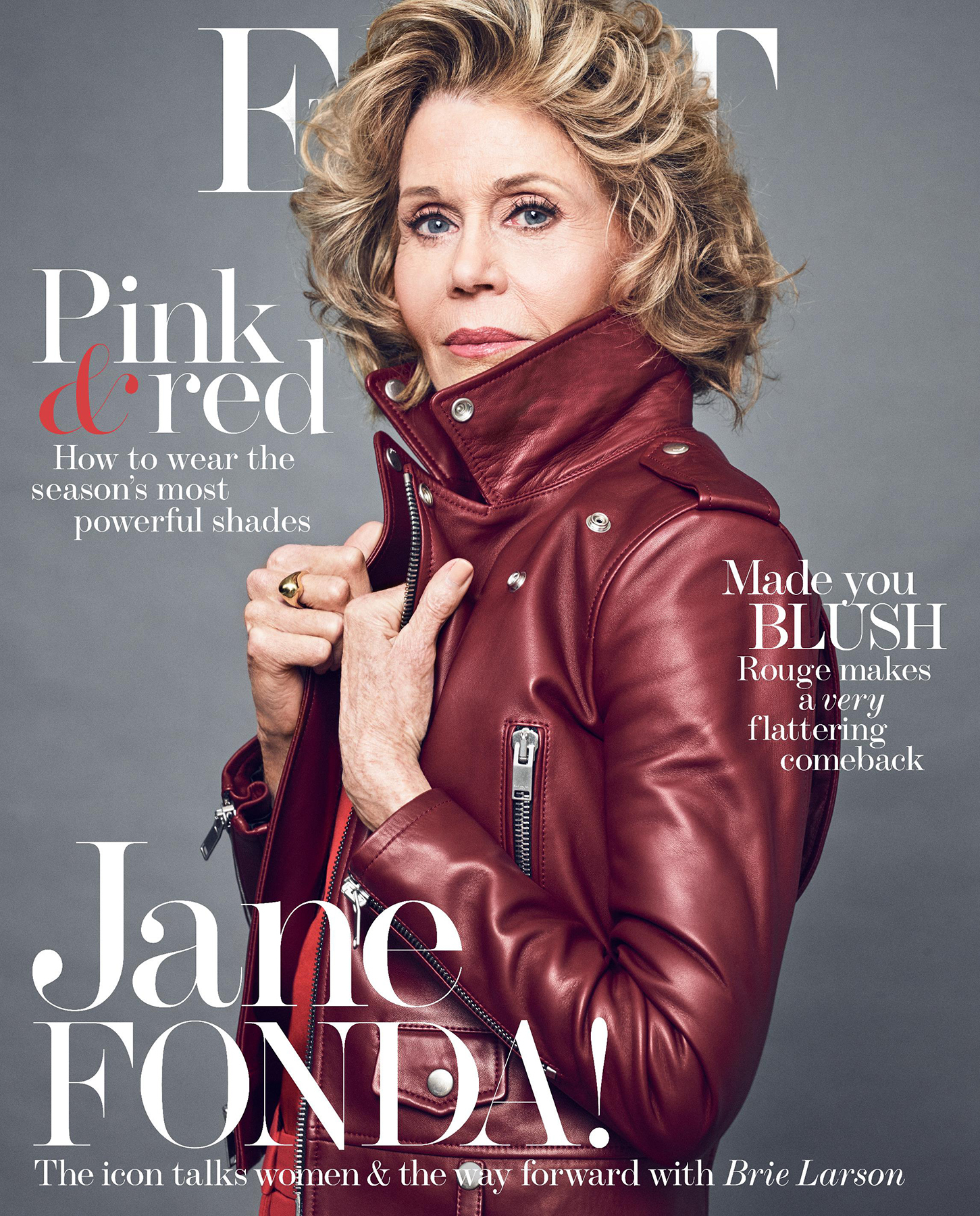 Jane Fonda on the cover of THE EDIT