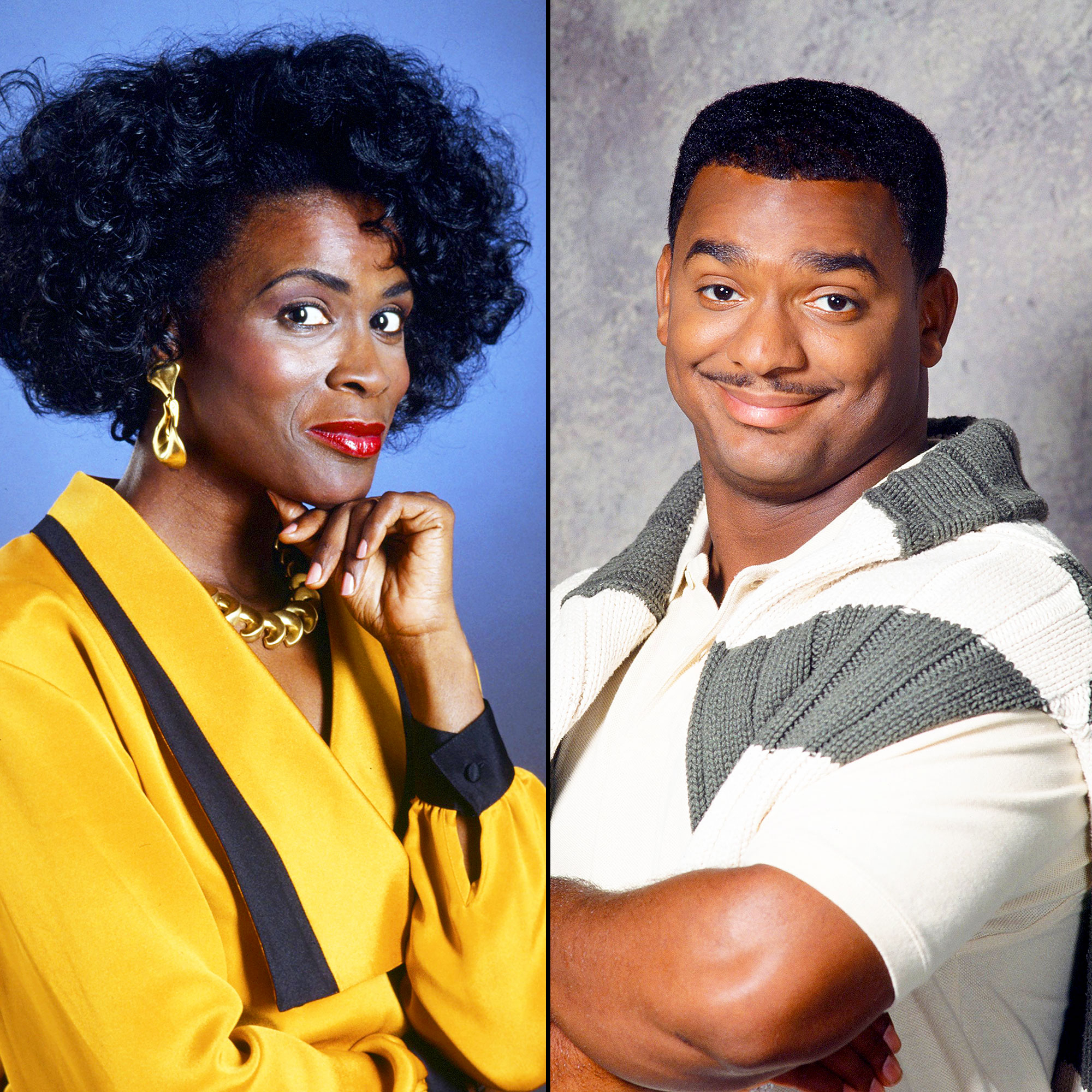 Janet Hubert and Alfonso Ribeiro