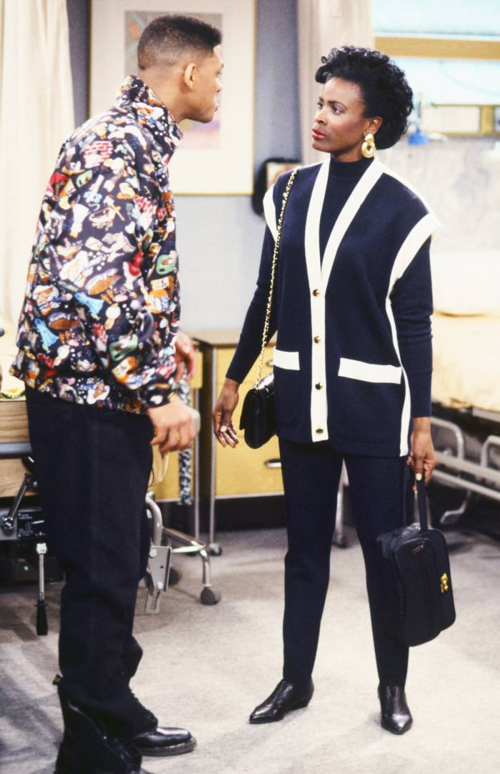 Will Smith and Janet Hubert