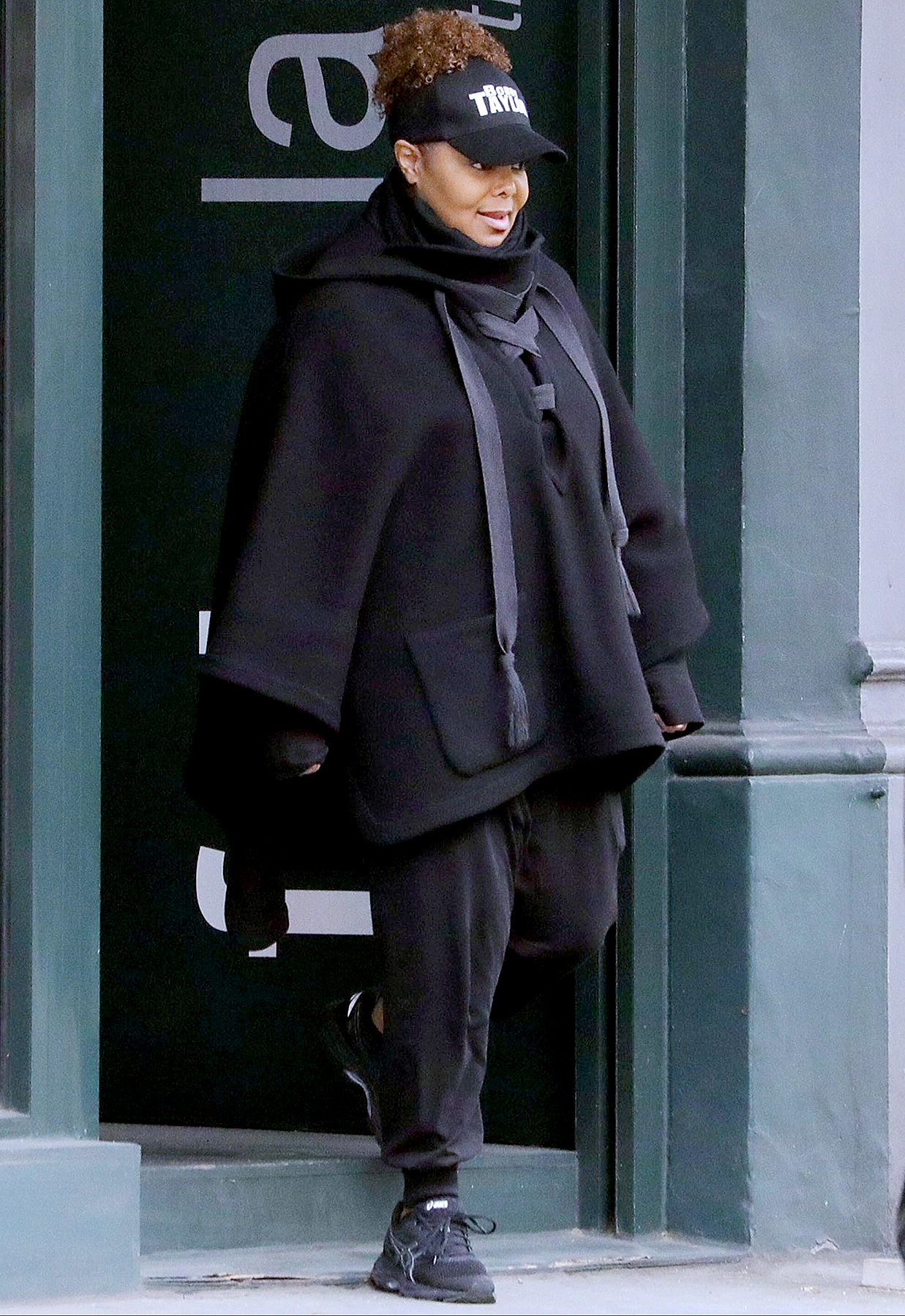 Janet Jackson seen for the first time since her split to her husband Wissam Al Mana was revealed.