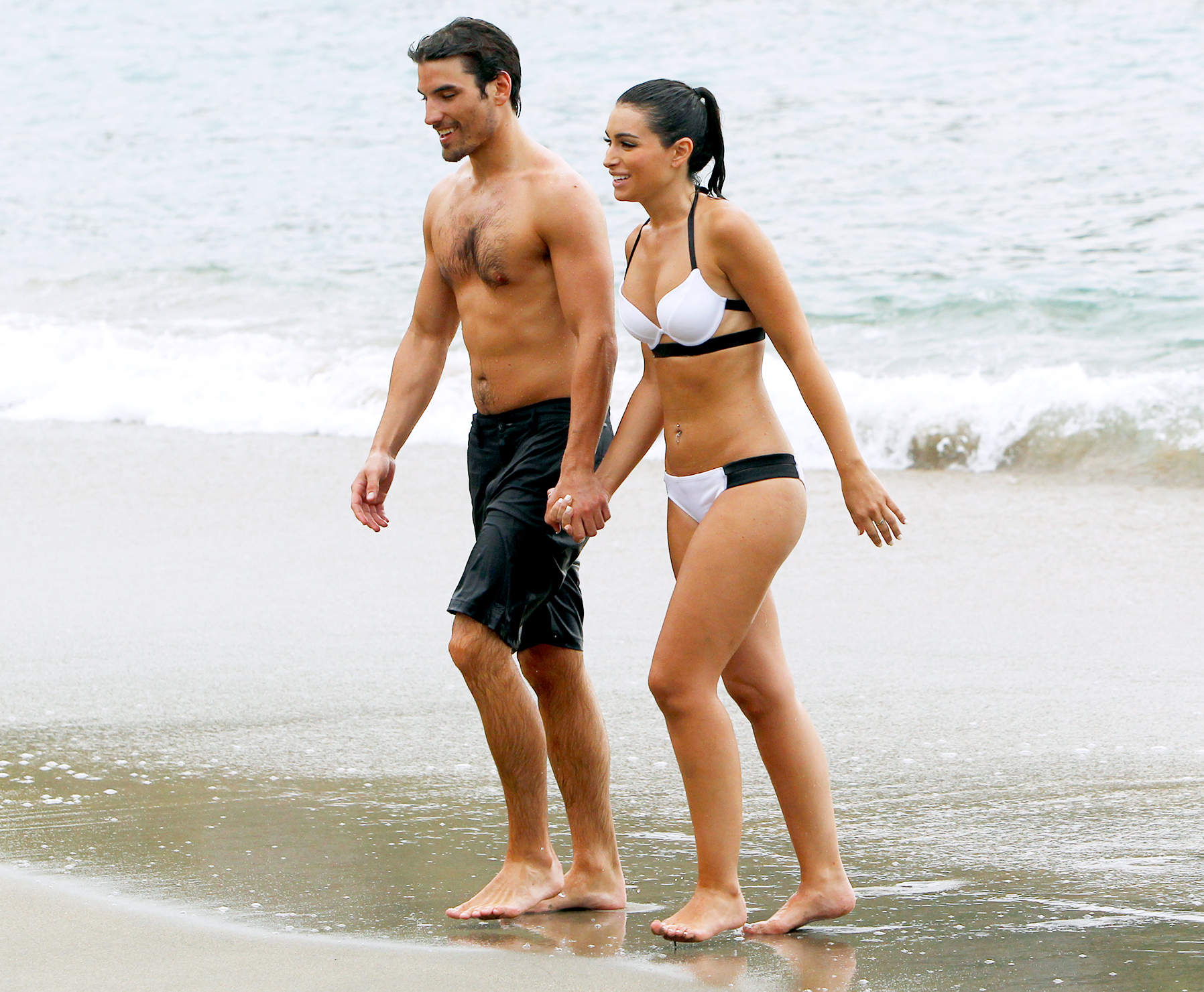 Jared Haibon and Ashley Iaconetti on Bachelor in Paradise in 2015.