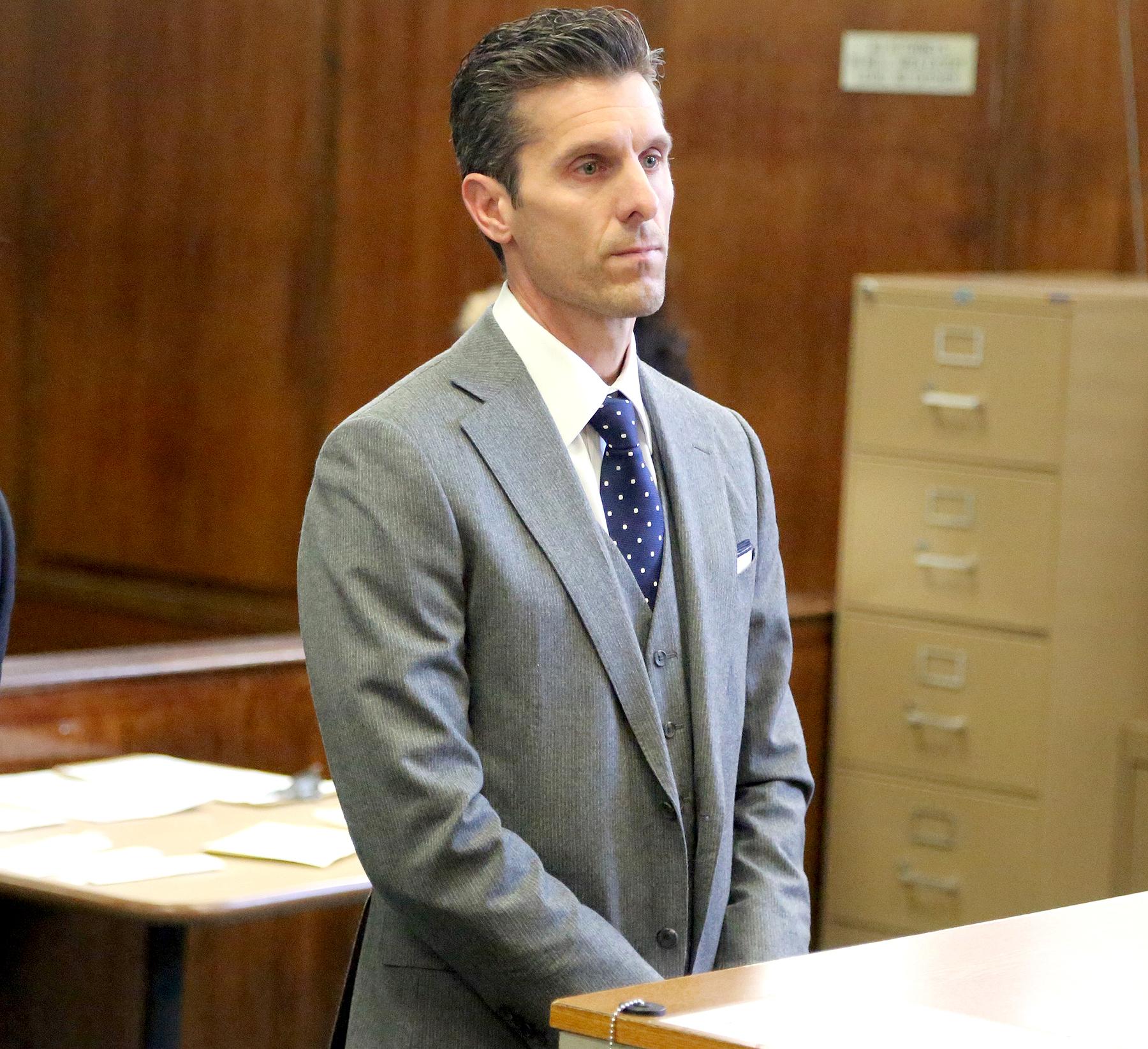 Jason Hoppy appears in Manhattan Criminal Court on Monday, March 13, 2017.