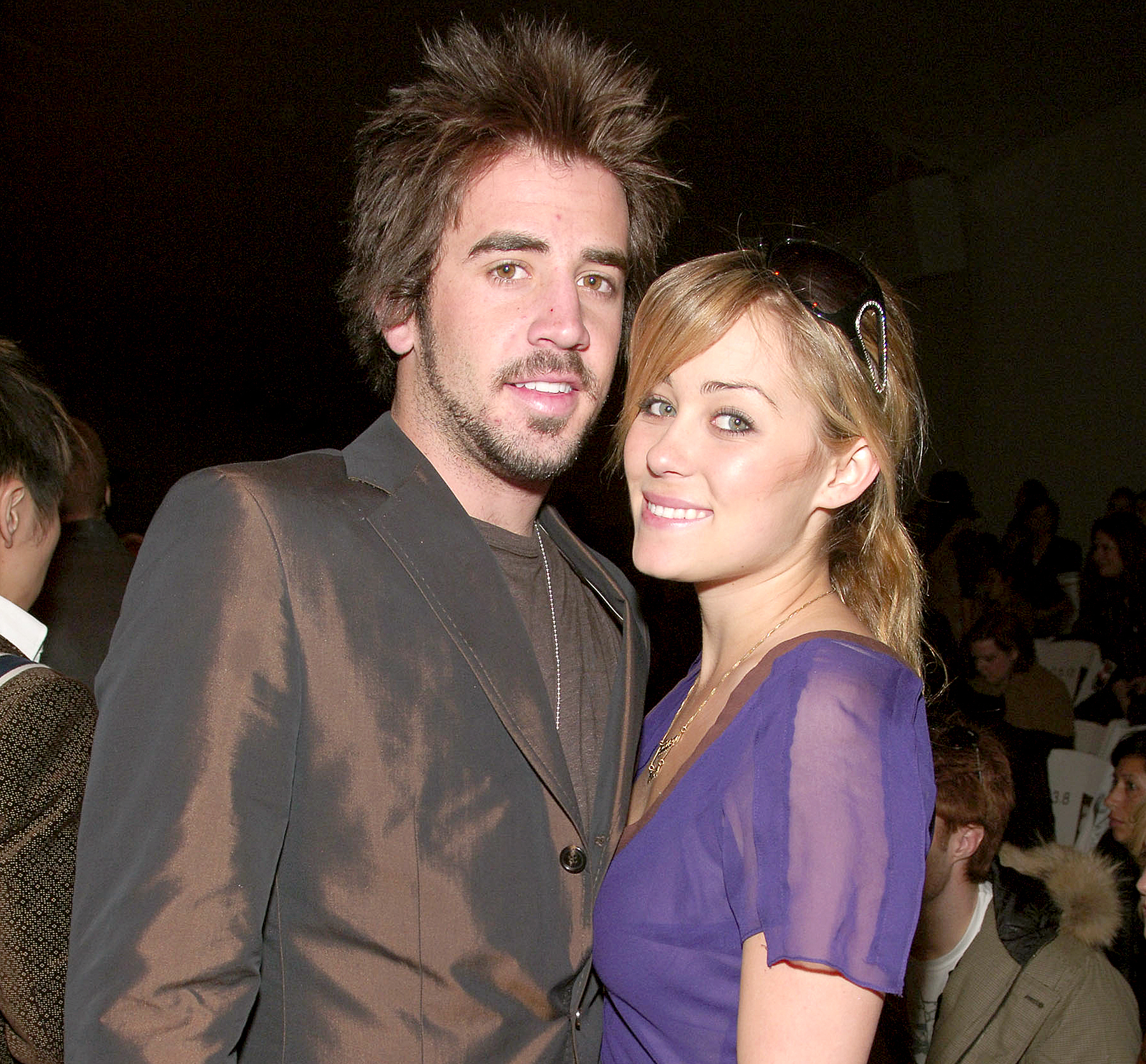 Jason Wahler and Lauren Conrad during Olympus Fashion Week Fall 2006.