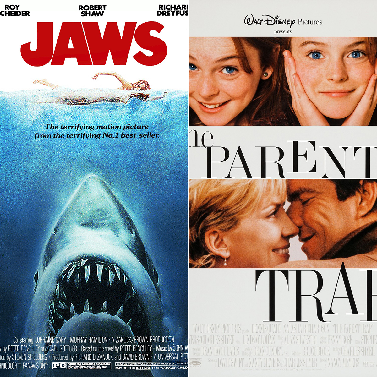 Jaws and The Parent Trap