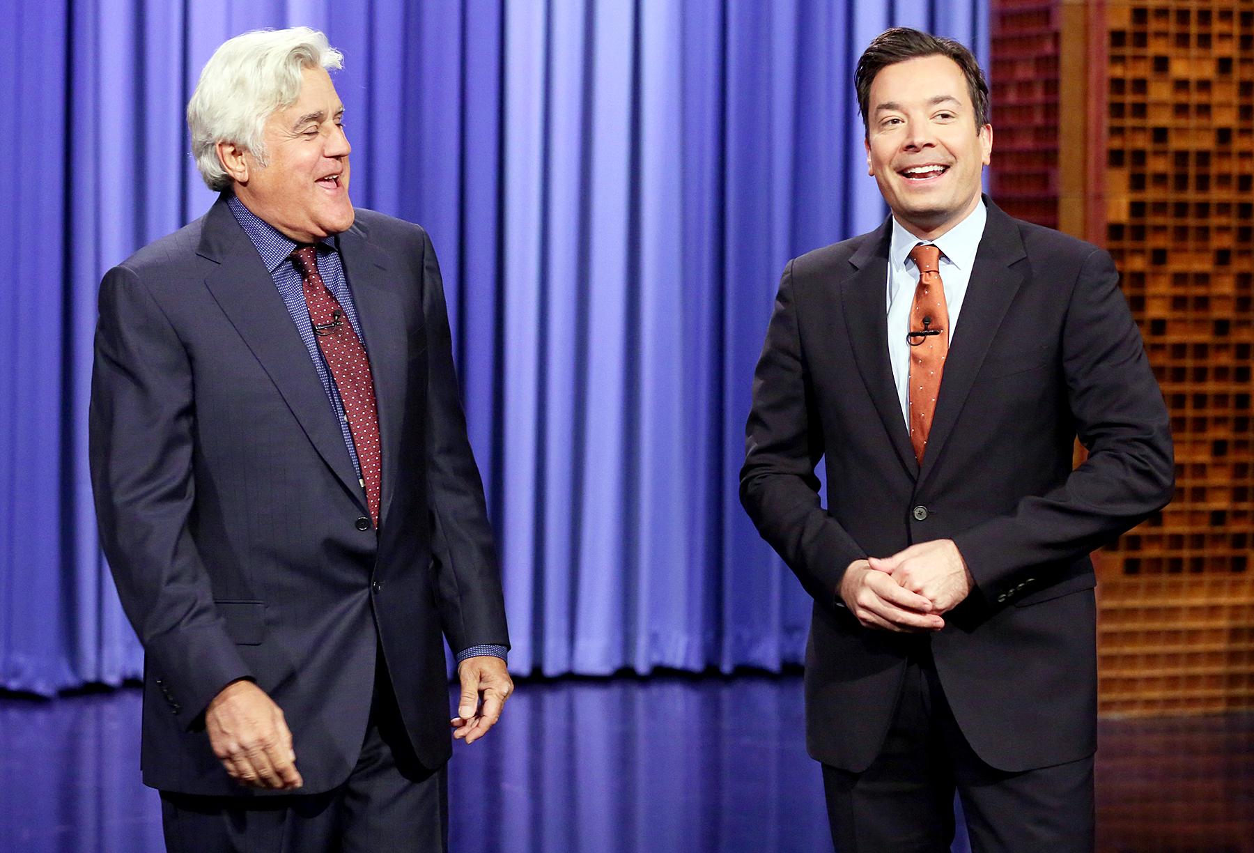 Jay Leno Jimmy Fallon The Tonight Show