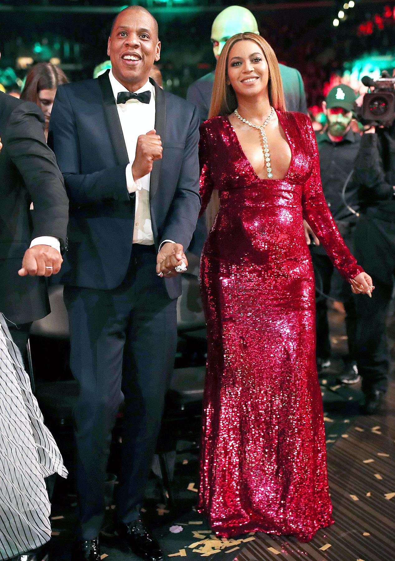 Jay Z Beyonce Grammys 2017