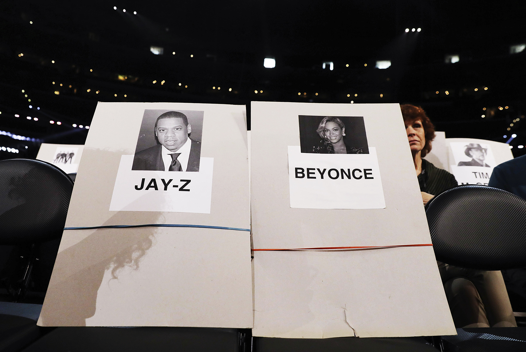 Jay Z Beyonce Grammy Awards seating chart