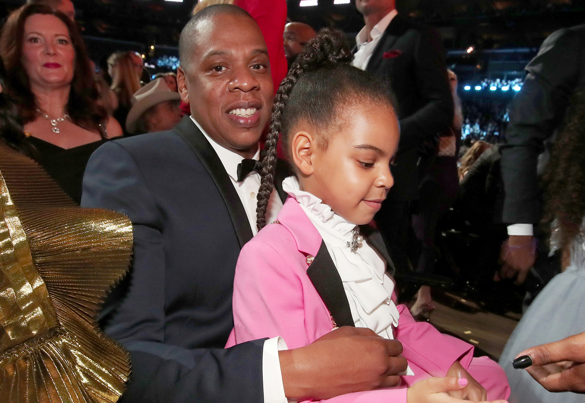 Jay-Z, Blue Ivy, 59th GRAMMY Awards