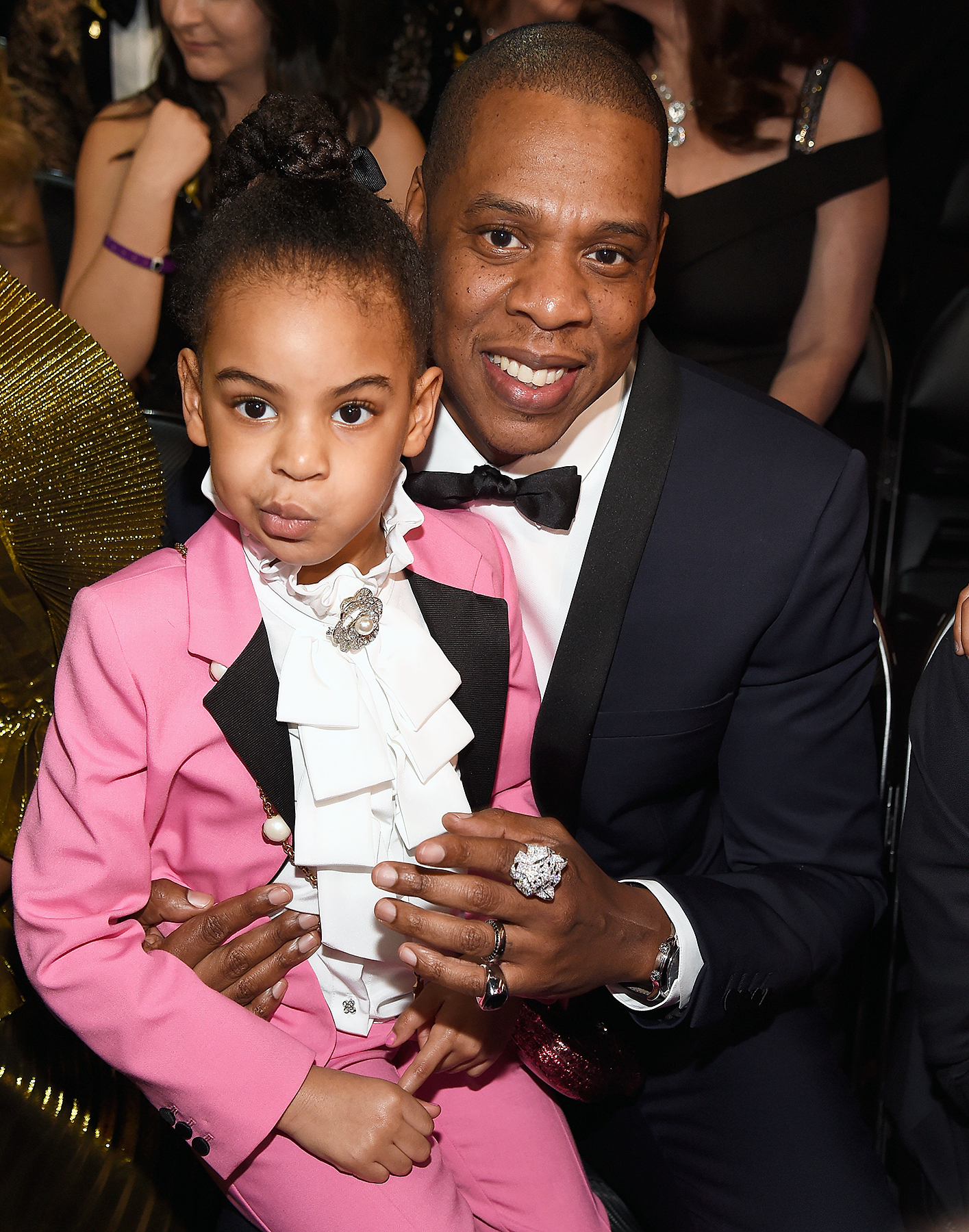 Blue Ivy Jay Z Grammys 2017