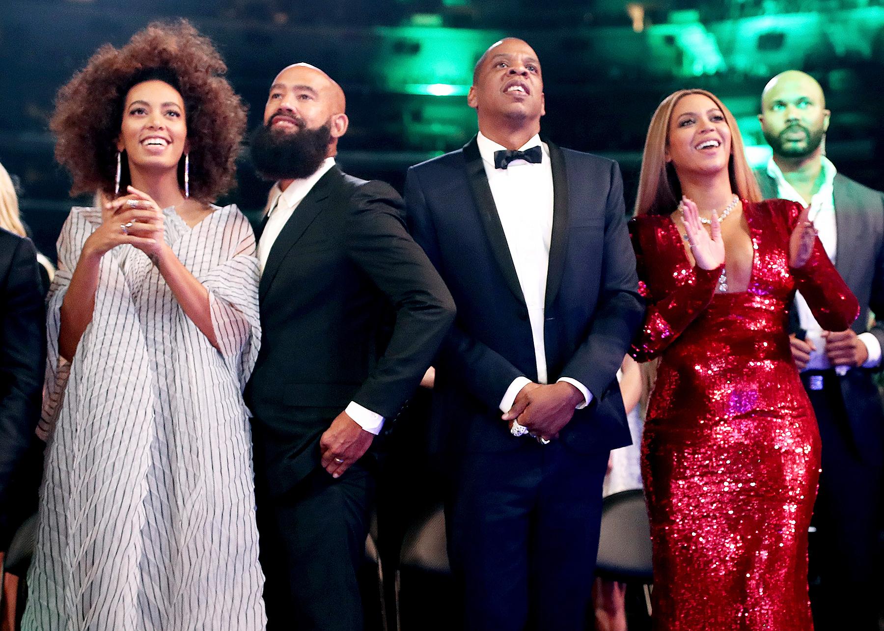 Solange Knowles Alan Ferguson Jay-Z Beyonce
