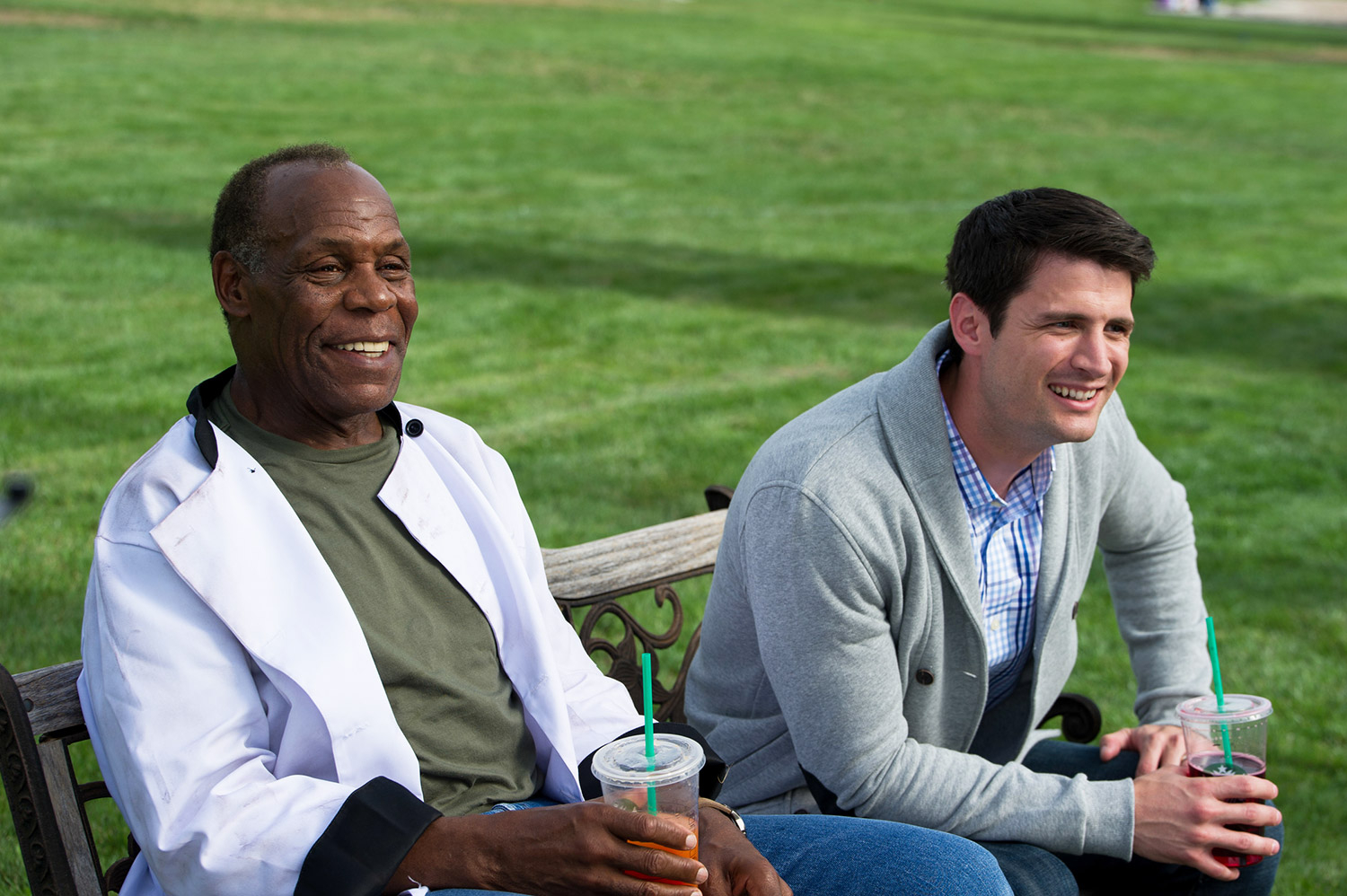 Danny Glover and James Lafferty