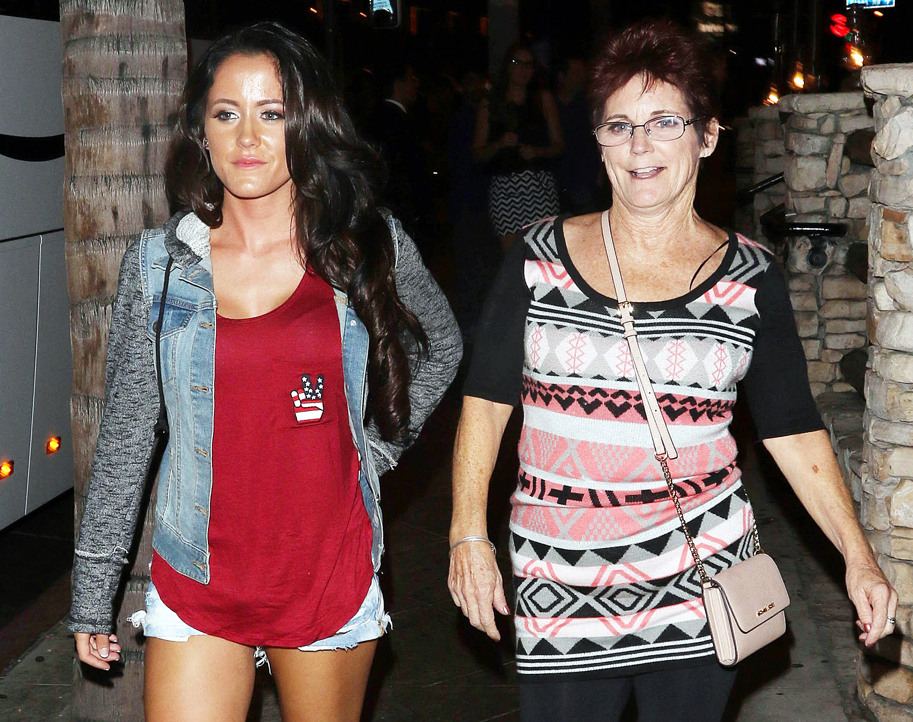 Jenelle Evans and mom Barbara