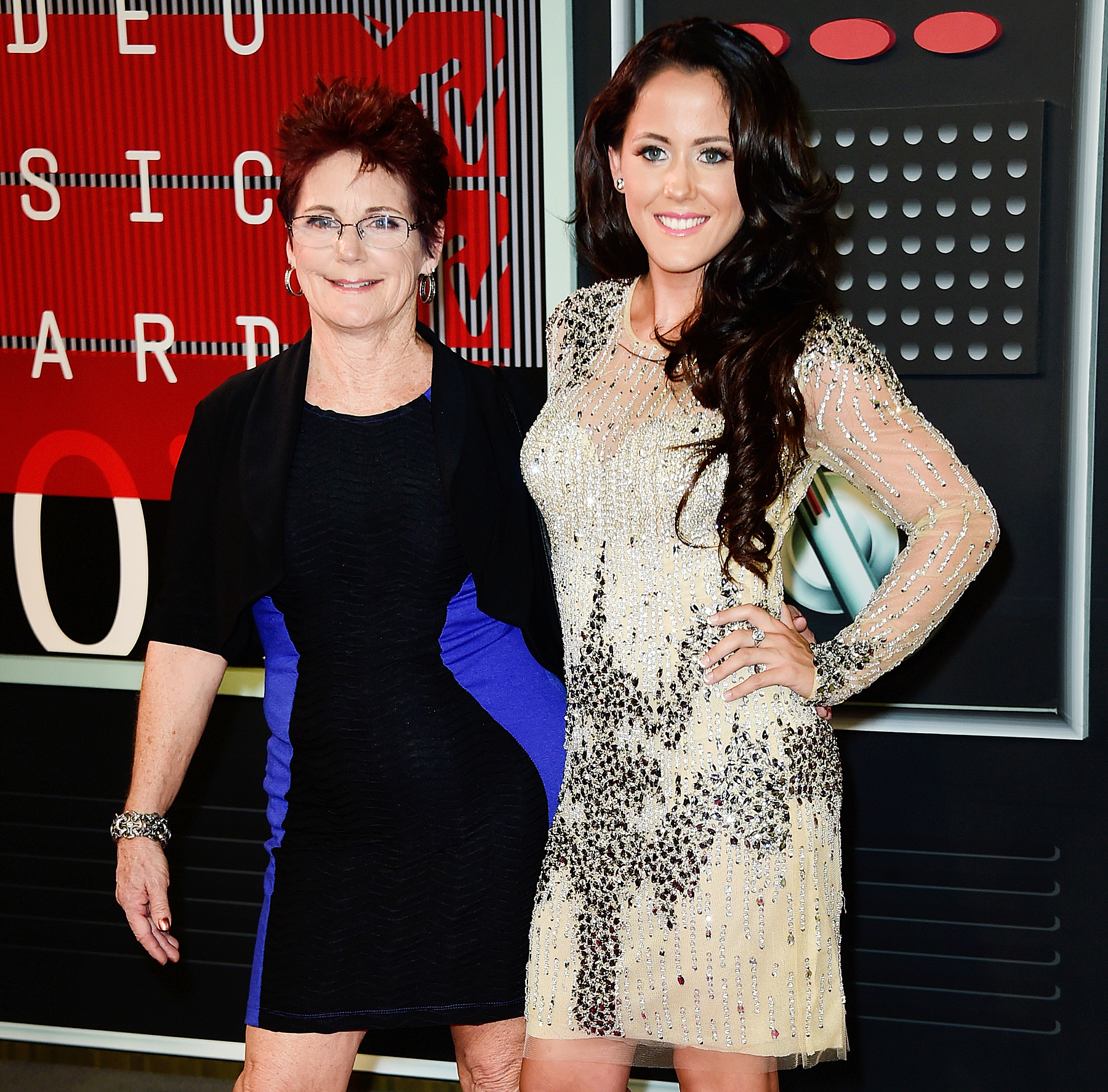Barbara Evans and Jenelle Evans