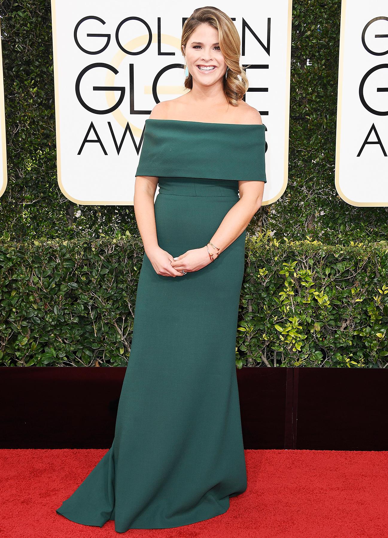 Jenna Bush Hager Golden Globes