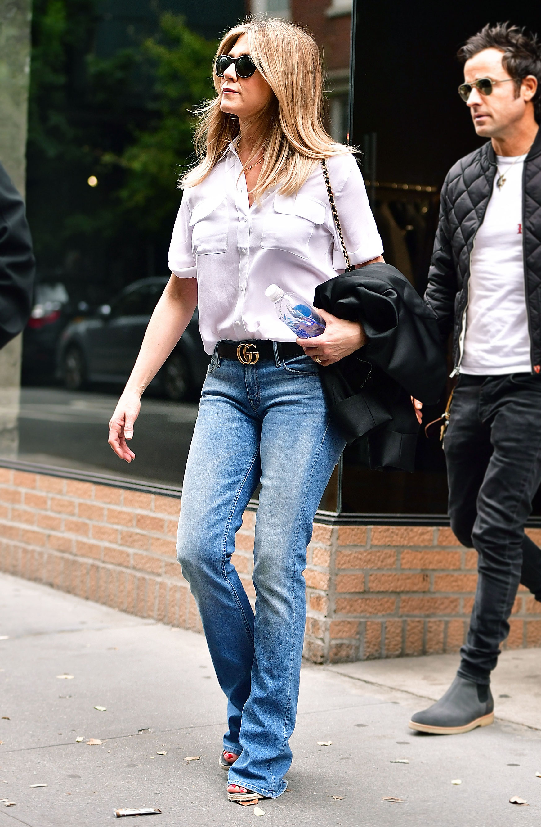 Kendall J And More Cinch Street Styles With Gucci Belts