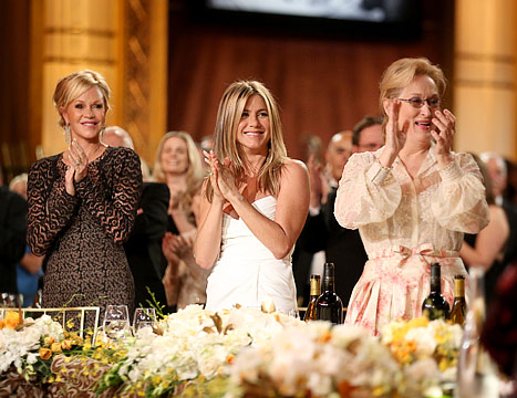 Aniston and Streep