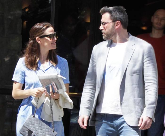 Ben Affleck and Jen Garner