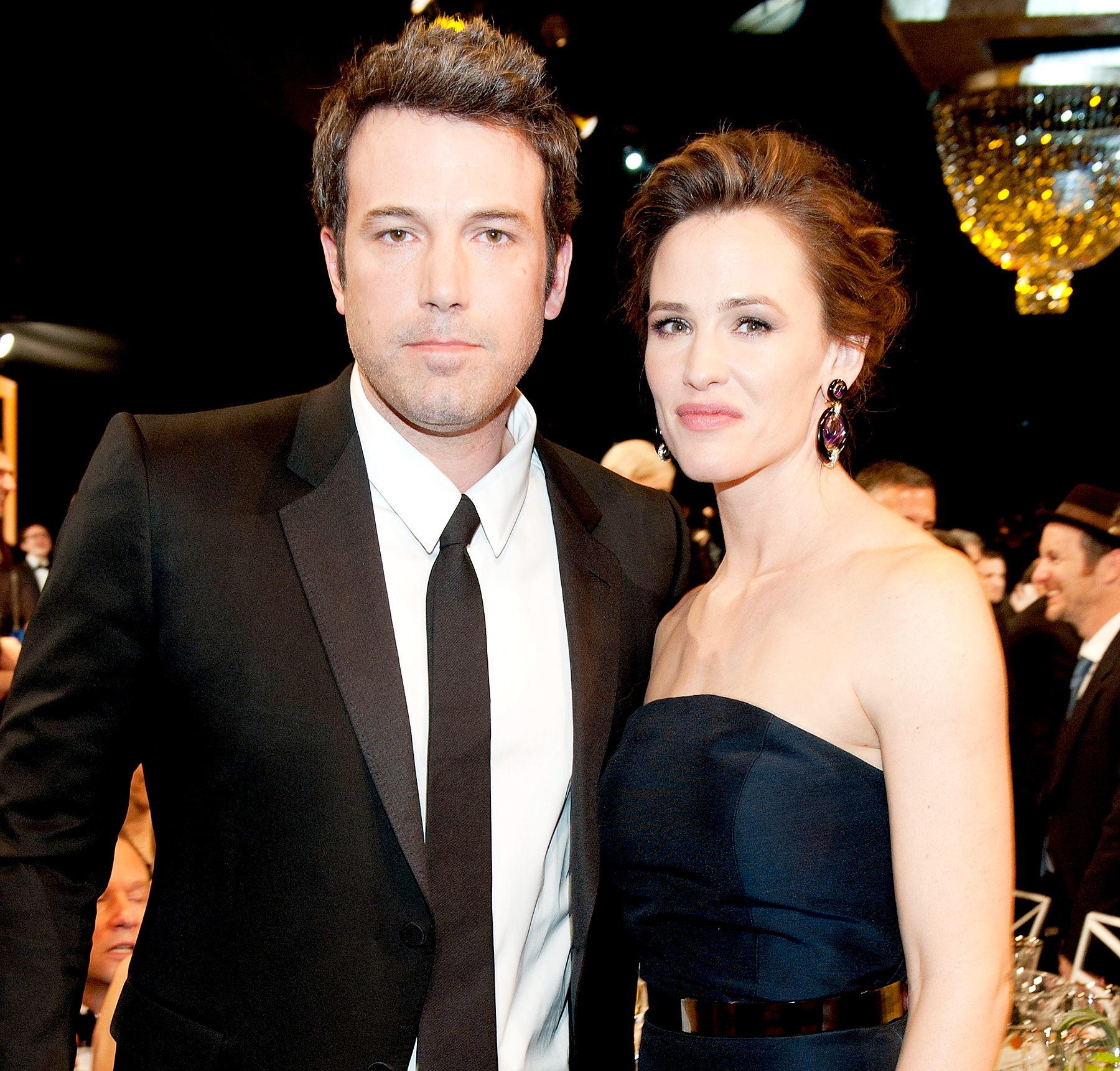 Ben Affleck and Jennifer Garner attend the 20th Annual Screen Actors Guild Awards at The Shrine Auditorium on January 18, 2014 in Los Angeles, California.