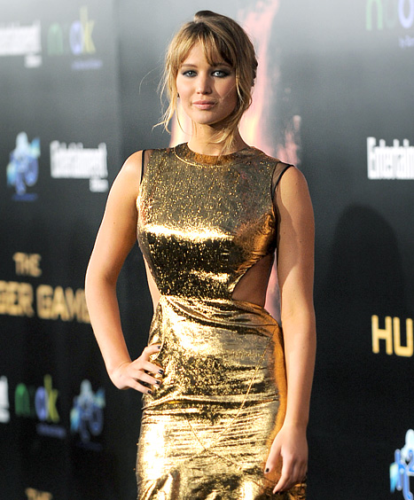 jennifer lawrence glammed up