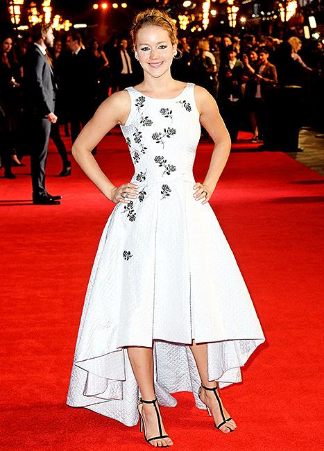 Jennifer Lawrence - London 2014