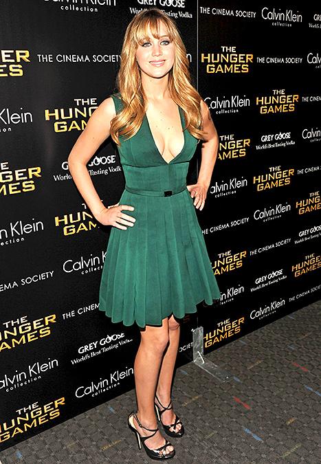 Jennifer Lawrence - NYC March 2012