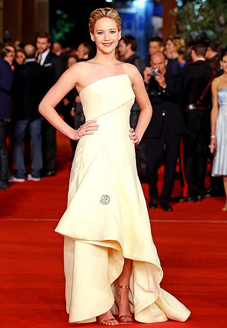 Jennifer Lawrence - Rome 2013