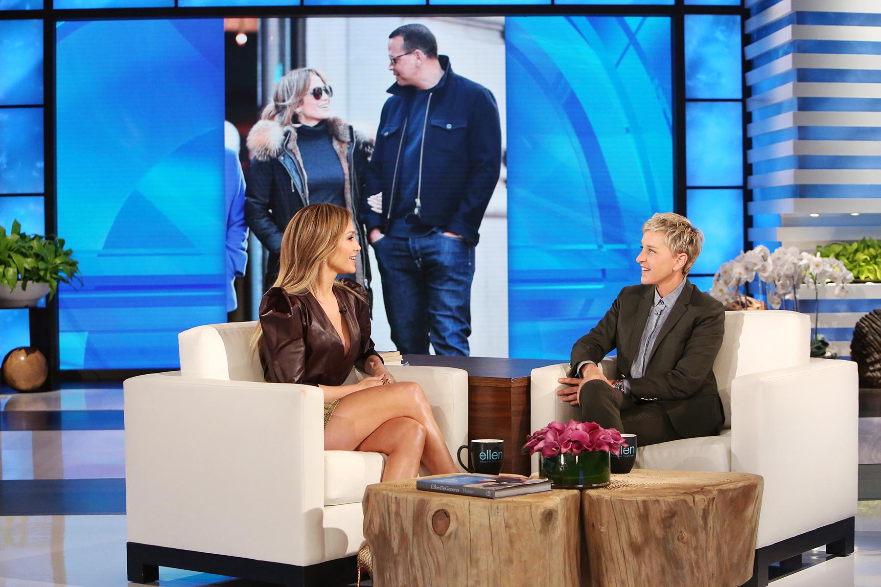 Jennifer Lopez Ellen Degeneres Alex Rodriguez