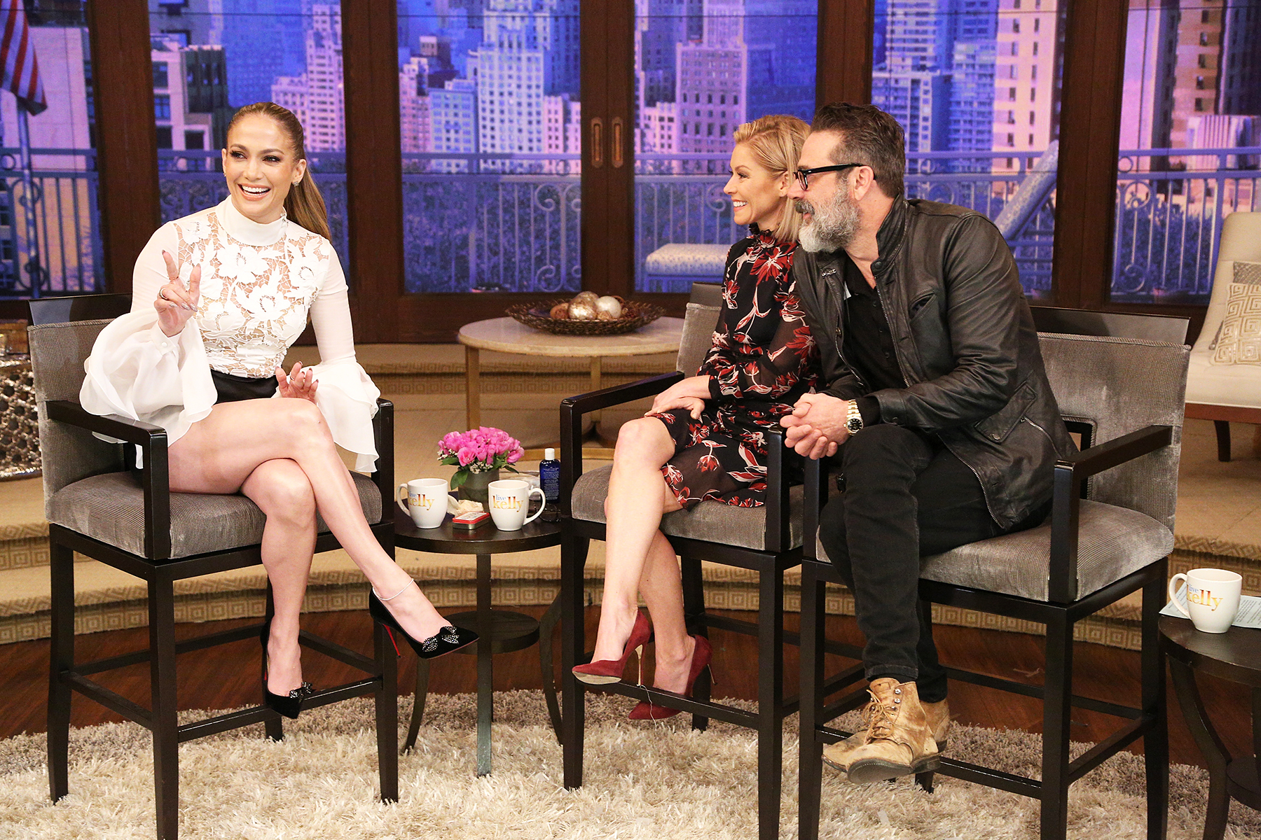 Jennifer Lopez LIVE with Kelly