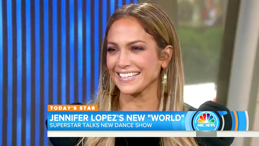 Jennifer Lopez on Today.