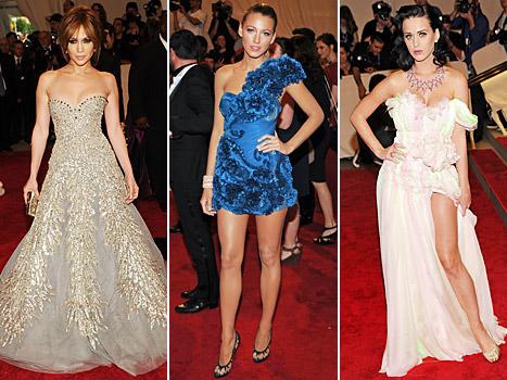 Jennifer Lopez, Blake Lively, Katy Perry