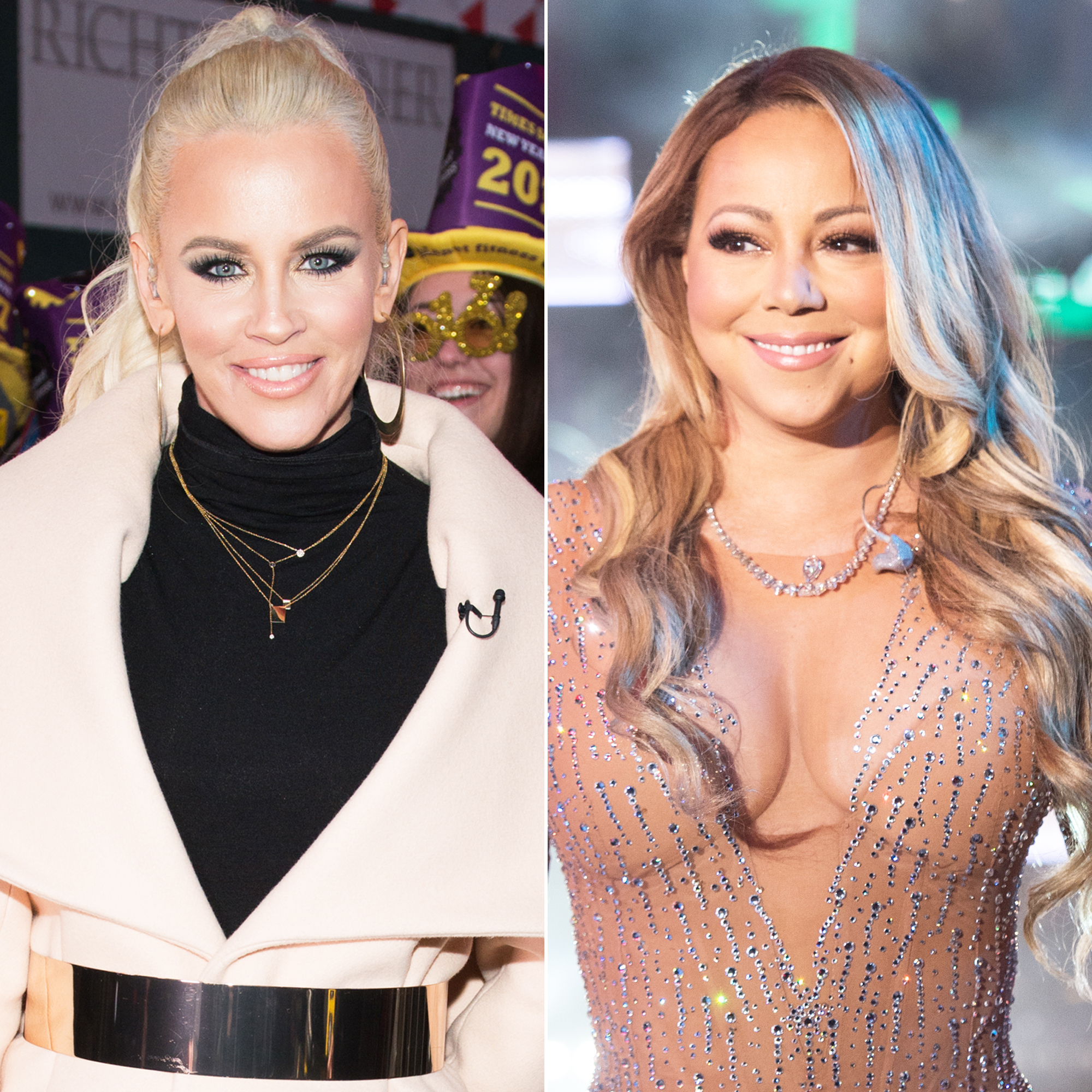 Jenny McCarthy and Mariah Carey