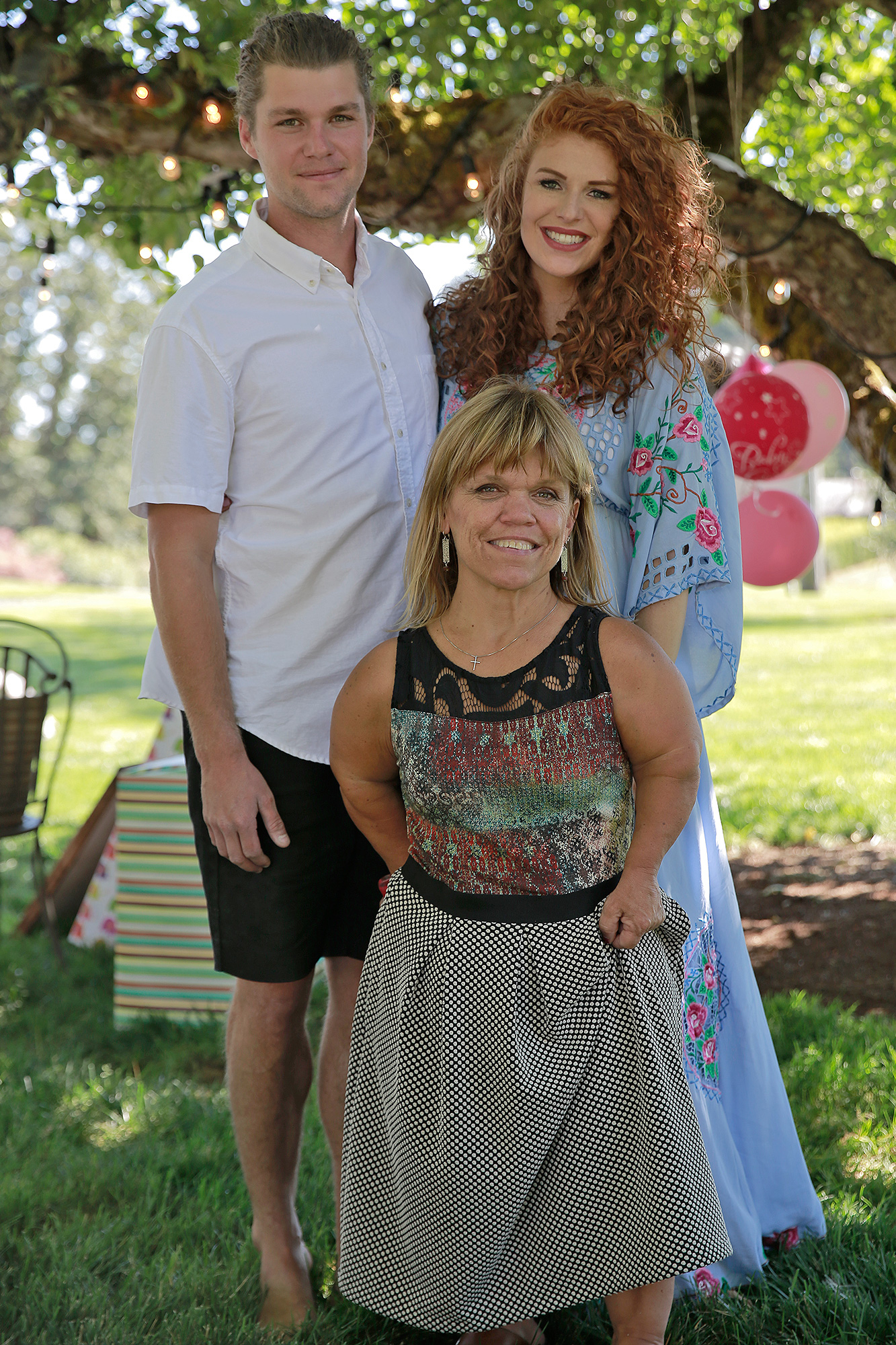 Jeremy Roloff, Audrey Roloff and Amy Roloff
