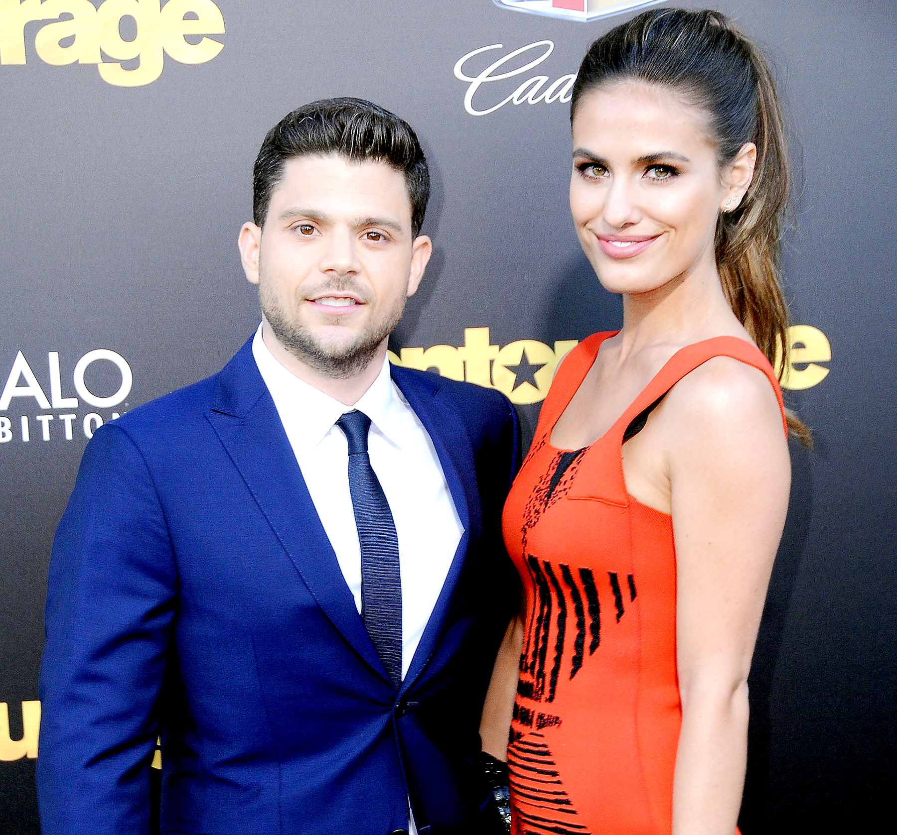 Jerry Ferrara and Breanne Racano arrive at Warner Bros. Pictures Premiere of 'Entourage' at Regency Village Theatre on June 1, 2015 in Westwood, California.